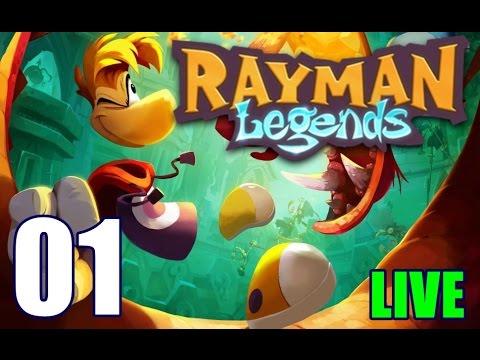 Rayman Legends [LIVE 01] - Whoa Black Betty, bambalam !!