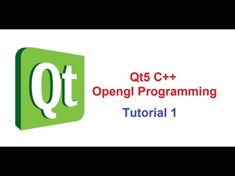 1 Qt5 C++ Opengl Tutorial Creating Window by Parwiz Forogh