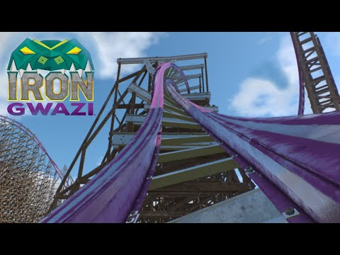 Iron Gwazi Busch Gardens, POV Animation