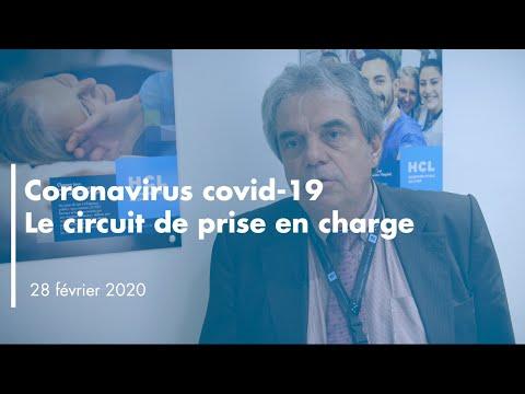 Coronavirus Covid-19: Circuit de prise en charge - Pr Pierre-Yves Gueugniaud