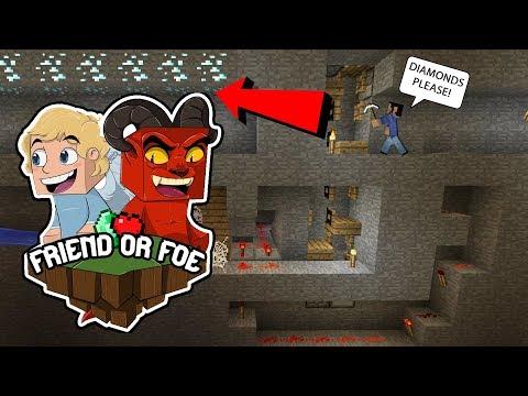 WE FOUND DIAMONDS! -  Minecraft Friend or Foe #3