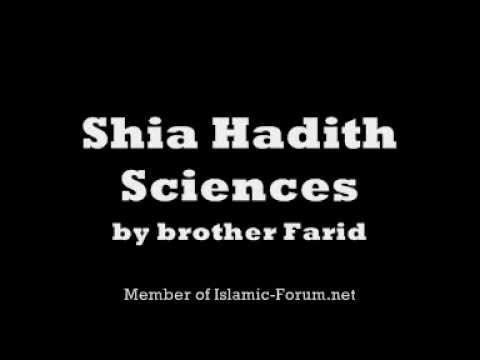 Sunni vs Shia Hadith Sciences
