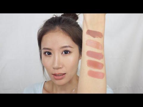 Celeste Wu 大沛 | 最愛的五支裸色唇膏