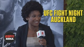 Angela Hill feeling good fighting on short notice in Auckland | ESPN MMA