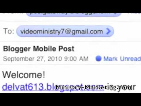 Ministry Marketing Mobile: Blogging On An I-Phone