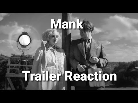 Mank (Netflix) – Trailer Reaction