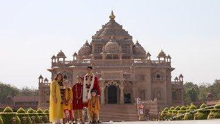 PM of Canada Rt. Hon. Justin Trudeau Visits Swaminarayan Akshardham, Gandhinagar, India
