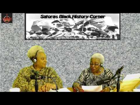 Satora's Black History Corner 4-10-2017