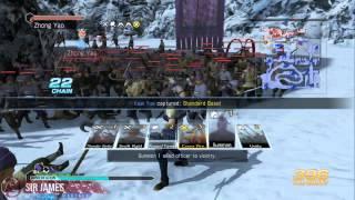 Dynasty Warriors 8 Empires Walkthrough Part 21 Invasion - Ye