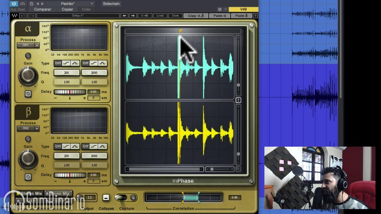 Alinhando e Corrigindo a Fase na Mixagem com Waves inPhase