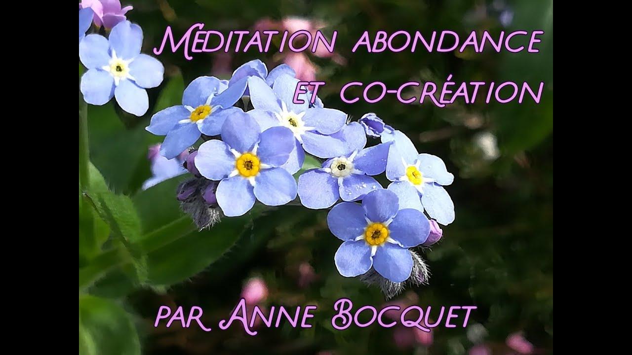 méditation abondance et co-création