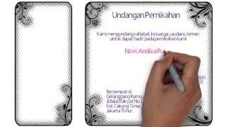 1.0 WEDDING INVITATION VIDEO - Undangan Pernikahan Danar & Novi