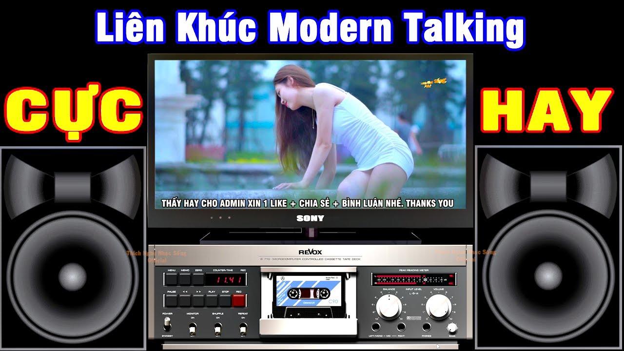 LK Modern Talking Cực Sung – VẠN NHÀ THÍCH NGHE – LK Nhạc Sống Hòa Tấu Không Lời – Nhạc Test Loa