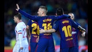 FC Barcelona 3-1 Olympiakos | Maç Özeti, Tüm Goller | 18/10/2017 • HD