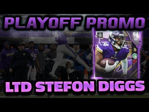 LIMITED EDITION STEFON DIGGS | MADDEN 18 ULTIMATE TEAM