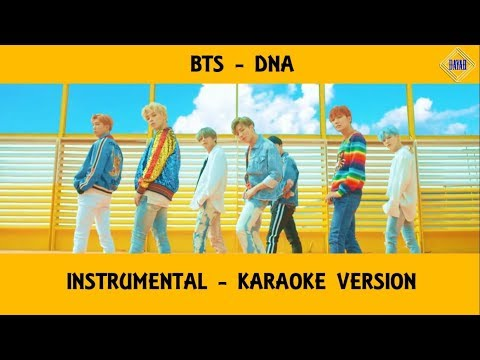 [INSTRUMENTAL] BTS (방탄소년단) - DNA + Lyrics Karaoke Version (80% CLEAN)