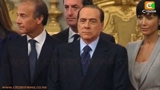 Former PM Berlusconi Begins Community Service Sentence