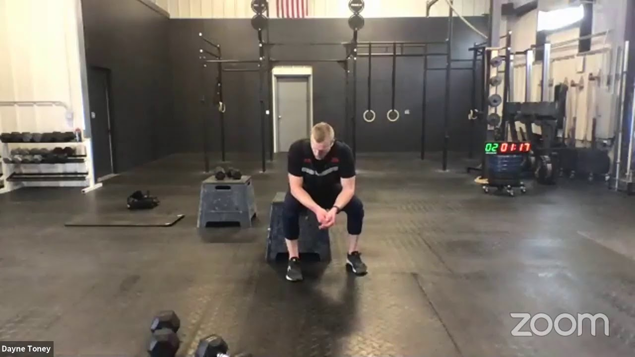 Live Workout Wednesday, May 13th