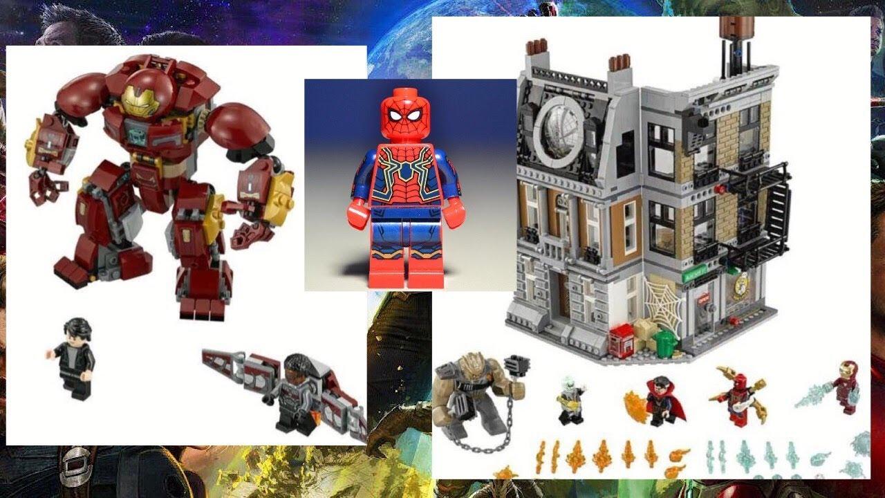 Лего мстители война бесконечности игрушки
