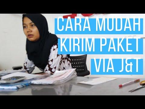 Cara MUDAH KIRIM PAKET PAKAI J&T