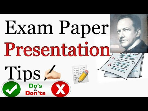HOW TO PRESENT YOUR ANSWERS TO GET FULL MARKS IN PUBLIC EXAM 2019-2020   10TH   11TH   12TH