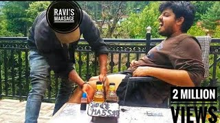 Best Indian Head and Thigh Massage-Head, scalp & Deep tissue massage by Ravi | Kasol |ASMR