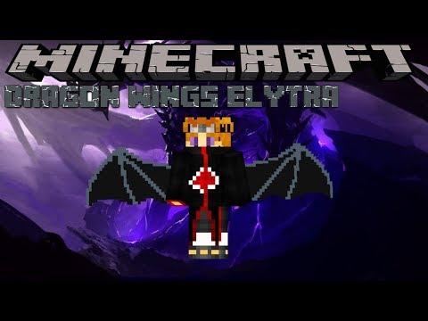 dragon-wings-elytra---minecraft-1.12.2-(mod-showcase)