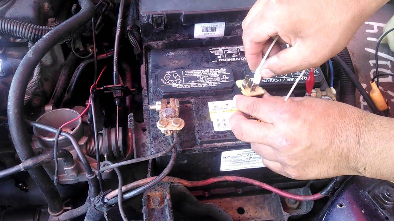 Caja De Relevadores Y Comprobacion Un Relevador Asd Neon 1995 Chrysler Lebaron Fuse Diagram Wiring Schematic 1998