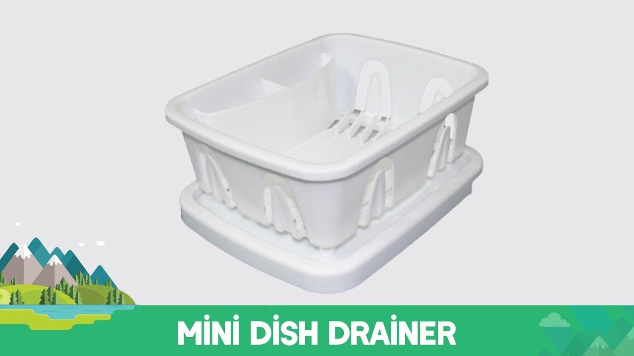 Mini Dish Drainer Youtube
