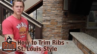 How to Trim Spareribs like a Butcher - St. Louis Style