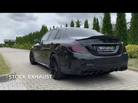 Mercedes-Benz C43 AMG | RCP Exhausts | Downpipes + Center Section