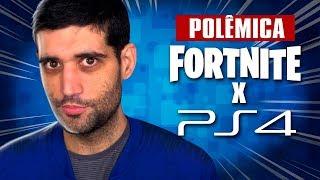 PlayStation 4 x FORTNITE, POLÊMICA da Sony BLOQUEANDO contas já esta ficando RIDÍCULO
