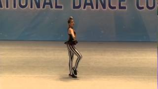Emily rocks the KAR dance competition