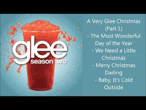 Glee - A Very Glee Christmas songs compilation (Part 1) - Season 2