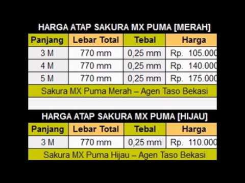 Harga Baja Ringan Taso Makassar Distributor Terbesar Dan Termurah Depok Youtube