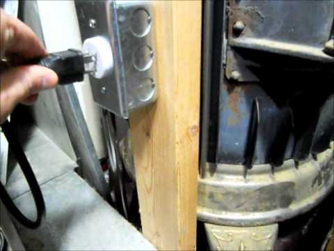 RicksDIY How To Wire Your Furnace To A Generator Overviewwmv - YouTube