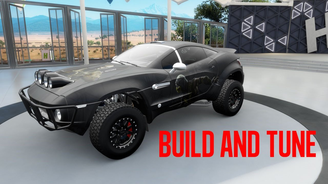 Local Motors Rally Fighter >> S1 900 Rally Fighter OS (Forza Horizon 3) - YouTube