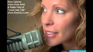 Rose Caiazzo, Voice Over Artist - Teaser for LLT Radio Show, Life Coach Christie Watts