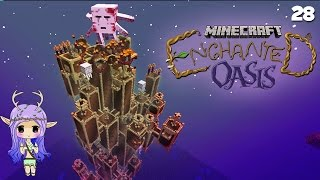 """UR-GHAST TOWER"" Minecraft Enchanted Oasis Ep 28"