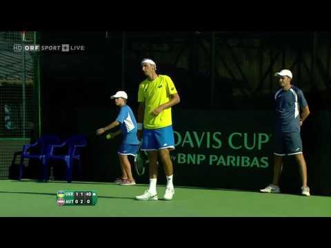 Sergiy Stakhovsky (UKR) vs Gerald Melzer (AUT) | Highlights | Davis Cup | 15.07.2016