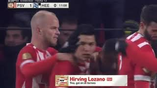Psv vs hereenden 3-0 goles resumen 2018