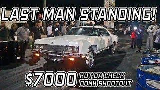 KUT DA CHECK $7000 DONK SHOOTOUT