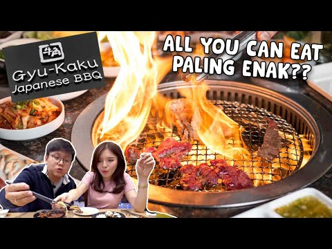 MAKAN DAGING SEPUASNYA DI GYU-KAKU !! ALL YOU CAN EAT TERENAK ??