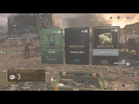 Call of Duty WWII Blitzkrieg Bribe - NOT duplicate protected. False Advertising