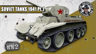 Tanks of the Red Army in 1941: Armoured Cars and Light Tanks, by the Chieftain - WW2 Special