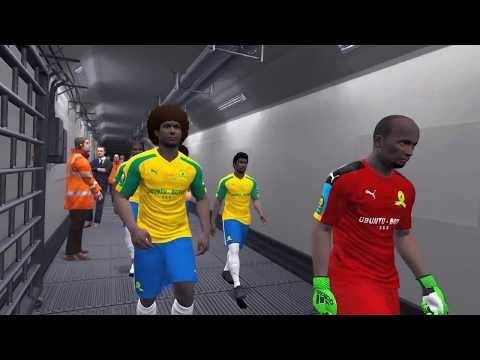 PES 2017- MAMELODI SUNDOWNS VS WYDAD - CAF Champions League