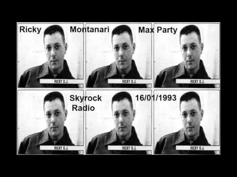 Ricky Montanari live at Max Party - Skyrock FM 1993 1 16