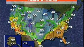 NBC Feeds -  May 2  2011 - Weathercast off air