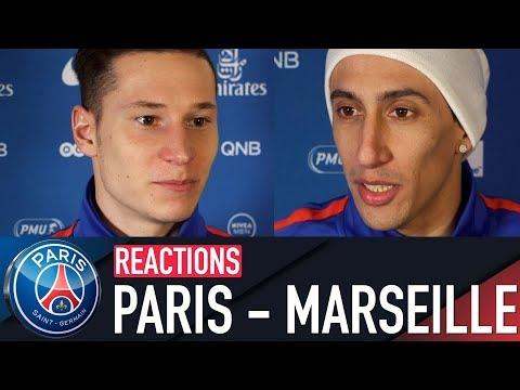 RÉACTIONS : PARIS SAINT-GERMAIN 3-0 OLYMPIQUE DE MARSEILLE