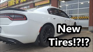 Getting New Tires For The Newly Ripp Supercharged V6 Charger!